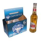 Keur de Naar maat gemaakte Carrier van de Fles van het Bier van 6 Pak goed