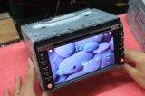 Dois DIN DVD universal para automóvel/leitor de áudio com navegação por GPS