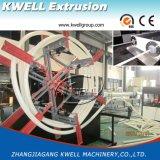 Extrusora plástica da tubulação da capacidade elevada PE/PPR, câmara de ar da água que faz a máquina