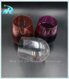 Кружка пластичной стеклянной чашки кокса выпивая