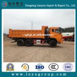 Sinotruk Cdw 10 바퀴 덤프 트럭 20 톤 팁 주는 사람 트럭