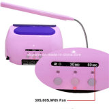 Table Lamp를 가진 18K 365nm+405nm 48W LED UV Lamp Nail Dryer