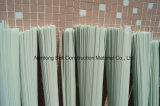 ガラス繊維の棒、固体ファイバー棒のガラスFRP固体棒、GRP高力棒