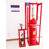 equipo del extintor del sistema de protección contra los incendios de 100L 4.2MPa Hfc-227ea