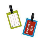 カスタマイズされたプリント堅いPVC挿入カードの安いバルク荷物の札