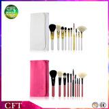 Kosmetische Borstels van het Haar van de Geit van de Borstels 10PCS van de Make-up van het Embleem van de douane de Professionele