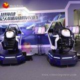 Аркады Игра симулятор машины для продажи Racing 9d-Vr сверхскоростного гоночного автомобиля при движении по движению