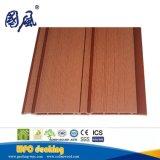 Pannello di rivestimento composito di legno esterno decorativo della parete