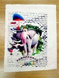 T-shirt en coton rapide imprimante