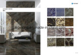 Laje de Pedra Mármore cinzento de luxo para andar/Flooring/parede/Escada/banheiro/cozinha/banheiro/parede do lado a lado a lado