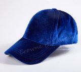 Chapeau fait sur commande de chapeau de l'hiver de femmes de velours de Viintage