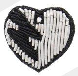 Handmade India Bullion bordados cable parche para Brooch