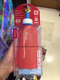 300ml BPA освобождают бутылку воды спортов пластмассы силикона бутылки воды спортов пластмассы (Hn-s001)