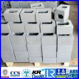 容器の部品か容器の角の鋳造または容器すみ金具