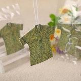 Aroma a lavanda Imprimir colgando Ambientador T-Shirt forma (YH-AF336)