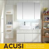 Lacado de madera contrachapada de nuevos blancos de estilo moderno cuarto de baño Muebles de vanidad (ACS1-L44).