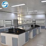 Estructura de acero nuevo diseño de alimentación de la fábrica mesa de trabajo de laboratorio
