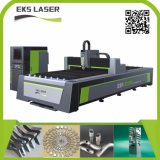 máquina de corte de fibra a laser de alta eficiência para a folha de metal