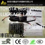 좋은 품질 수화물실 램프 Toyota Yaris/Ez/Highlander를 위한 추가 후방 후문 빛