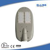 LED de bajo costo de la lista de precios de la luz de la calle con 5 años de garantía.