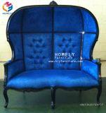中国の贅沢で旧式で標準的な王および女王の二重結婚式の王位の椅子