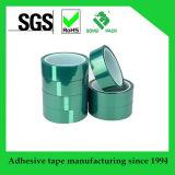 복면 사용을%s 고열 녹색 폴리에스테르 막 접착 테이프