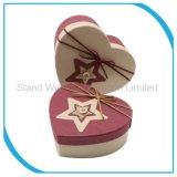 Forme de coeur personnalisé Candy boîte cadeau, boîte de papier de carton