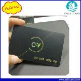 Cartão material da listra magnética do PVC com o resíduo metálico terminado