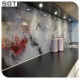 glas Splashback van Starphire van het Ijzer van 6mm het Lage Digitale Afgedrukte voor Keuken