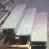 Escadas cinzentas Polished do granito G603 para a etapa/montante