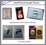 3개의 가장자리 봉인자 여과지 플라스틱 PE 필름 분말 음식 채우는 밀봉 포장기