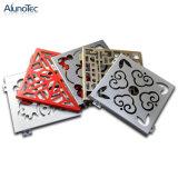 Vuurvast Decoratief Aluminium Gesneden Comité voor de Bouw van OpenluchtMuur