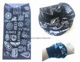 Шеи предохранения от продукции фабрики Китая шарф изготовленный на заказ UV серой трубчатый