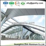 Hot vender material de construcción de techo de chapa de aluminio para la Decoración de pared exterior