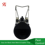 Einfacher Set-schneller Abbruchs-schwarzes Loch-Mole-Gopher-Plastikfalle