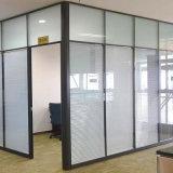 Portello di alluminio popolare dell'ufficio del divisore in vetro del blocco per grafici