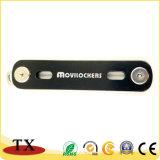 Chaîne de clés de l'aluminium bon marché pour la clé pour la promotion de l'organiseur cadeau