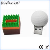 Golfball-Entwurf USB-Feder-Laufwerk (XH-USB-113)