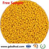 De Gele Kleur Masterbatch van het Dioxyde van het Titanium van 10% voor Plastic Producten