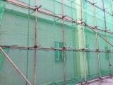 Red de seguridad de construcción para el edificio