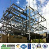 Edificio de marco de acero prefabricado de la casa de la estructura de acero