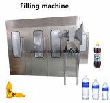 Botella de plástico PET automático de llenado de jugo de fruta de procesamiento de embotellado de los equipos de producción