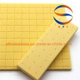 Entaillage et trou poinçonnant le matériau de faisceau de PVC 60kg/M3
