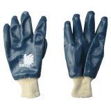 Volledig Met een laag bedekt van het nitril het Werk handschoen-5003 van de Katoenen Voering van de Koppeling