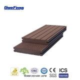 Bpc bambou composite en plastique laminés Bois extérieur Carte WPC Decking solide