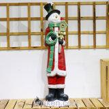 Mini décorations artificielles neuves de Noël d'élans d'or de cadeau de Noël