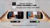 Macchina fotografica del campanello del IP di WiFi di P2p di servizio libero della nube video