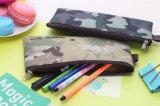 caja plana de la bolsa del bolso de la caja de la moneda de la lona del 19cm del cabrito al azar del color 1X; Carpeta del bolso de la moneda del regalo, carpeta Pocket de la bolsa de la moneda