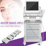 A0209 machine chaude de Hifu de cartouches de la vente 5 pour le déplacement de ride anti-vieillissement