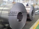 L'acier d'Inox (pente 304/1.4301 316 430 310S 410S 409L) AISI a laminé à froid la bobine d'acier inoxydable avec le miroir le Ba/8K/numéro 4 de fini